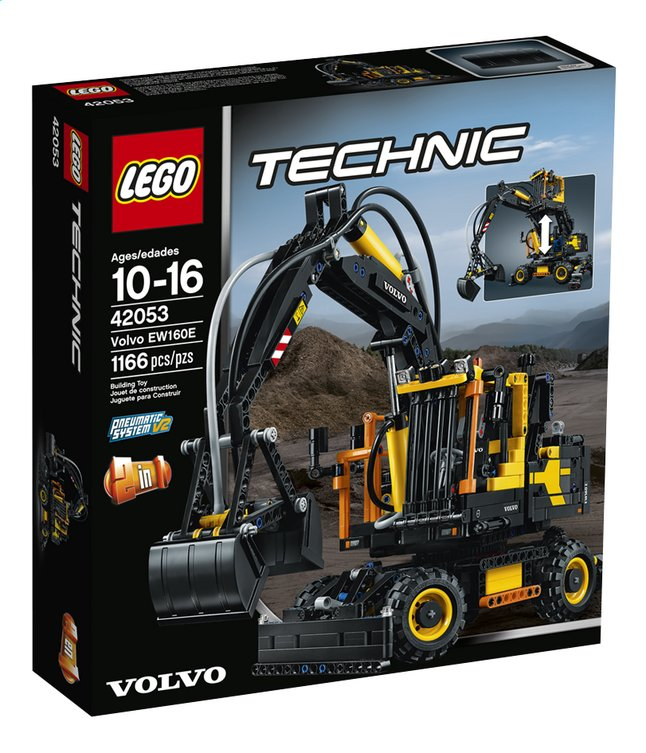 Afbeelding van LEGO Technic 42053 Volvo EW160E from ColliShop