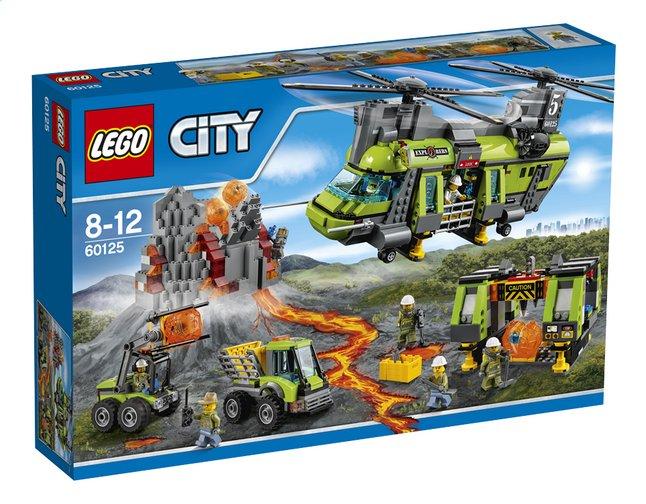Image pour LEGO City 60125 L'hélicoptère de transport du volcan à partir de ColliShop