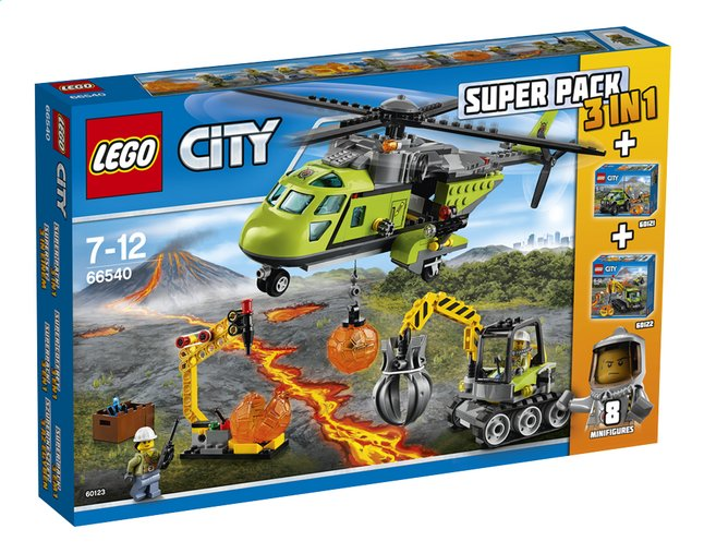 Image pour LEGO City 66540 Super Pack 3 en 1 à partir de ColliShop