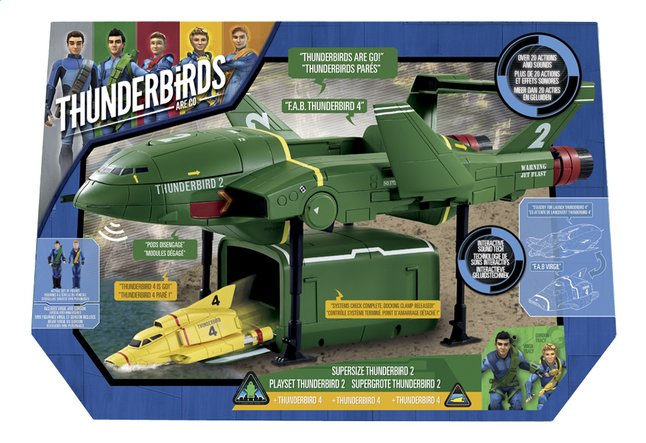 Afbeelding van Speelset Thunderbirds Supergrote Thunderbird 2 + Thunderbird 4 from ColliShop