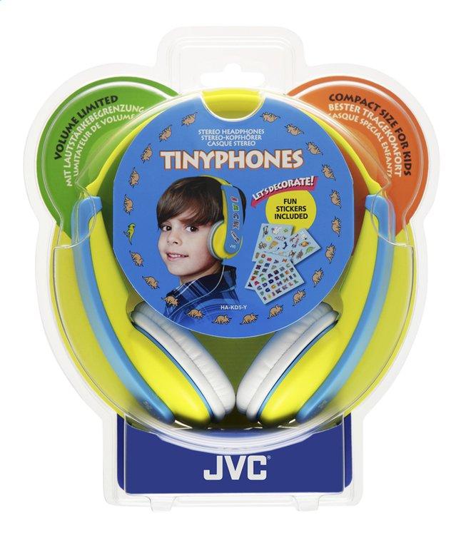 Afbeelding van JVC hoofdtelefoon HA-KD5 voor kinderen geel/blauw from ColliShop
