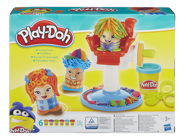 Afbeelding van Play-Doh Crazy Cuts from ColliShop