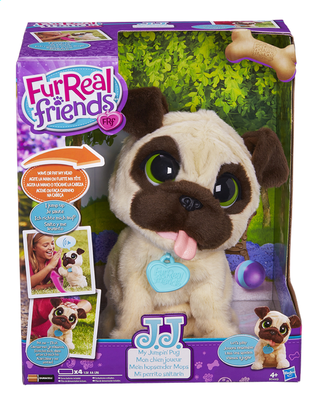 Image pour FurReal Friends peluche interactive JJ Mon chien joueur à partir de ColliShop