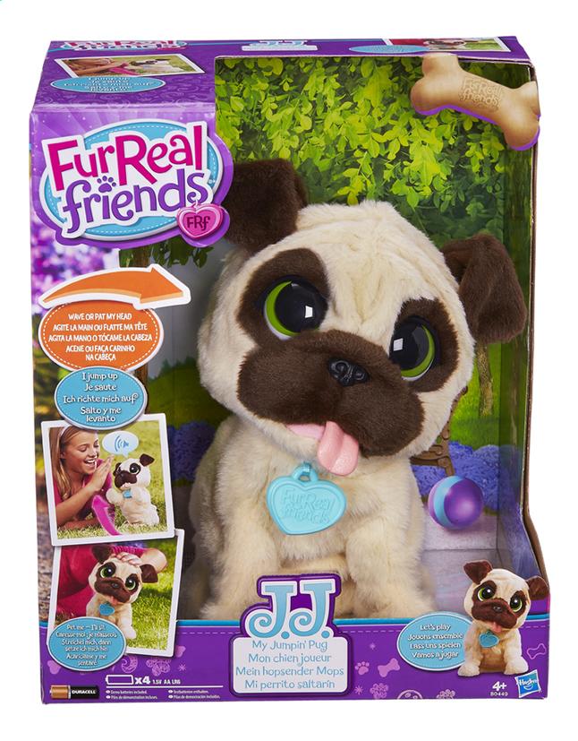Afbeelding van FurReal Friends Interactieve knuffel JJ My Jumpin' Pug from ColliShop