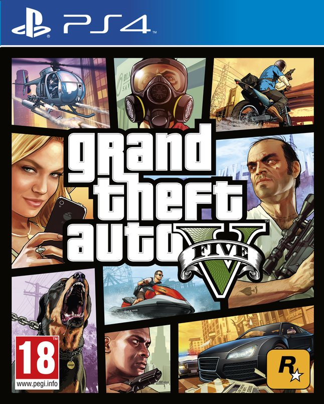 Afbeelding van PS4 Grand Theft Auto V ENG from ColliShop