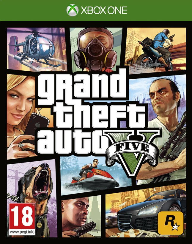 Image pour XBOX One Grand Theft Auto V FR à partir de ColliShop