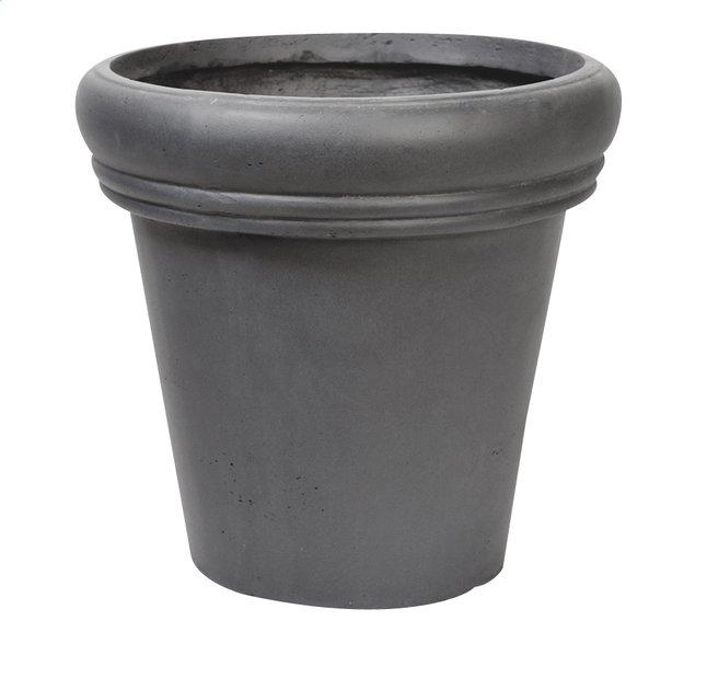 Image pour MCollections Pot rond gris foncé H 44 cm à partir de ColliShop