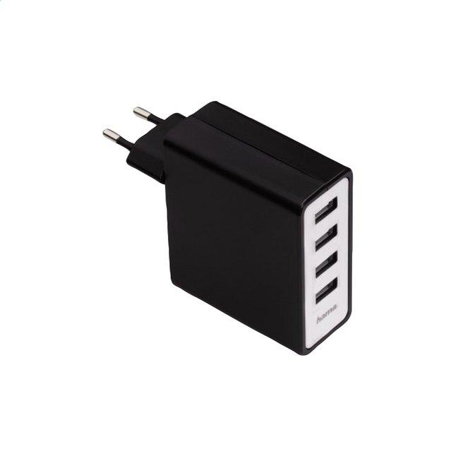 Image pour Hama chargeur avec 4 connexions USB à partir de ColliShop