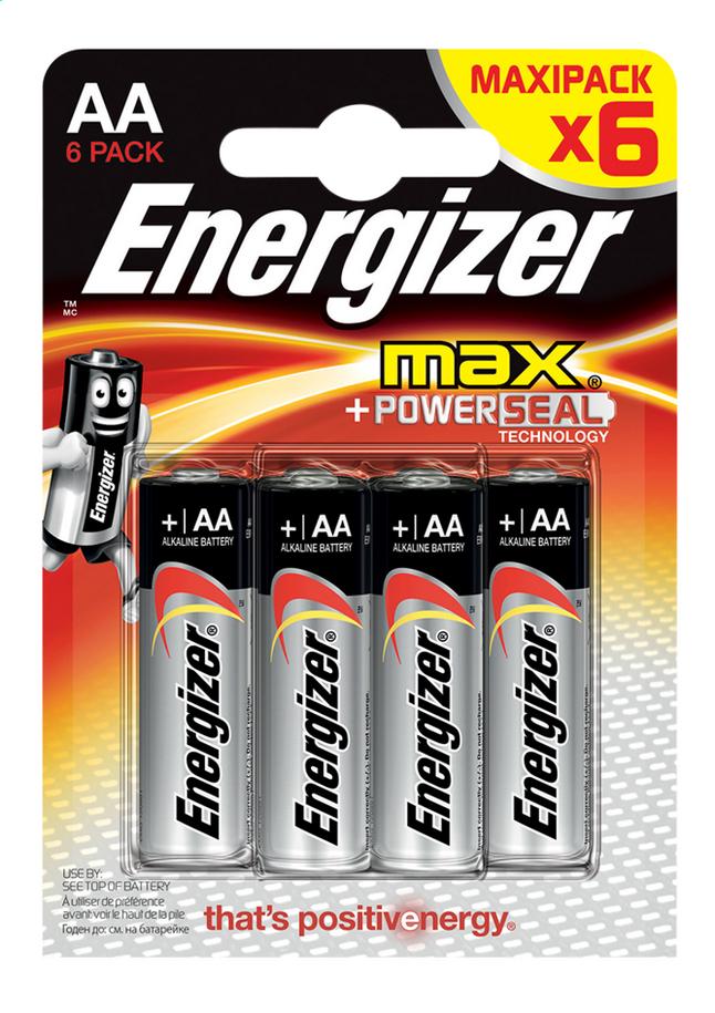 Image pour Energizer Max 6 piles AA à partir de ColliShop