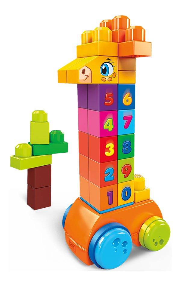 Image pour Mega Bloks First Builders La girafe à numéros à partir de ColliShop