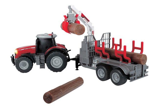 Image pour Dickie Toys tracteur Massey Ferguson MF 8737 à partir de ColliShop