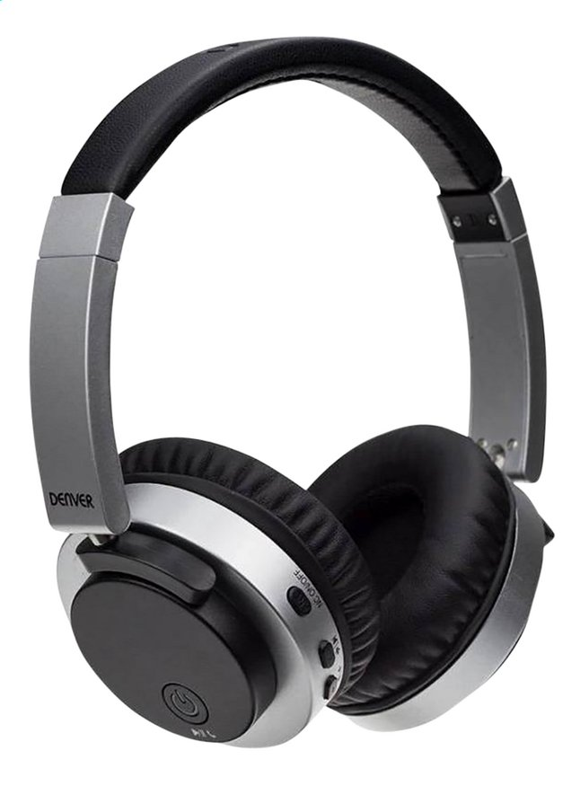 Denver Casque Bluetooth Btn 206 Noir Collishop