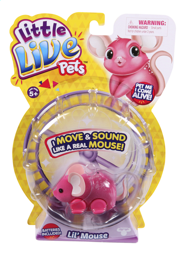 Afbeelding van Robot Little Live Pets Lil' Mouse Blossom from ColliShop