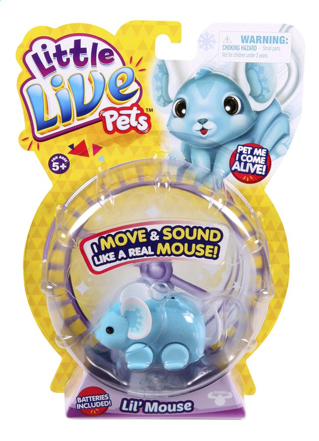 Afbeelding van Robot Little Live Pets Lil' Mouse Chatter from ColliShop