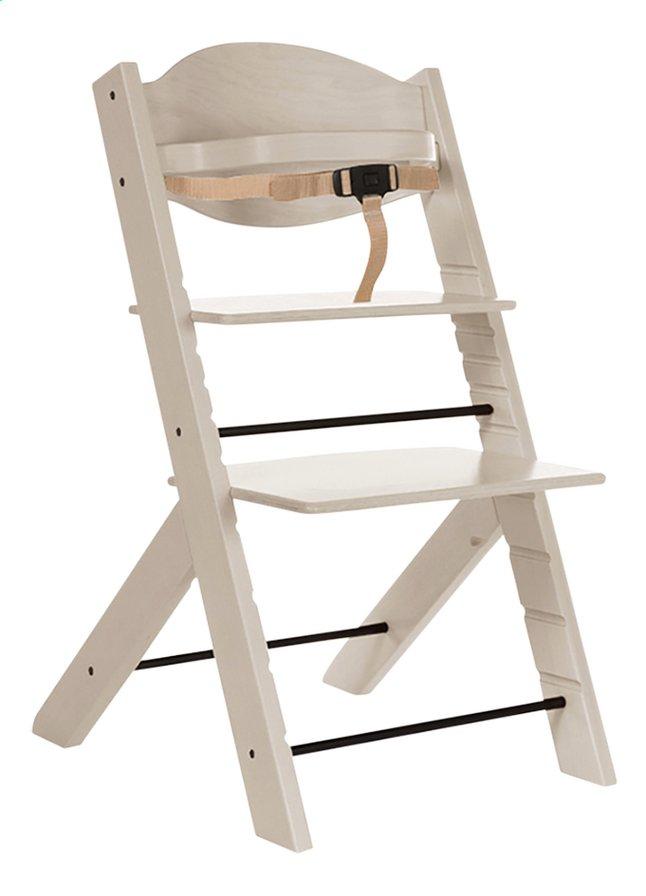 Image pour Treppy Chaise haute woody white à partir de ColliShop
