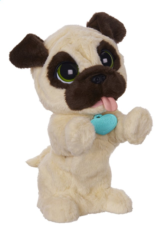 Afbeelding van FurReal Friends Interactieve knuffel JJ My Jumpin' Pug from ColliShop