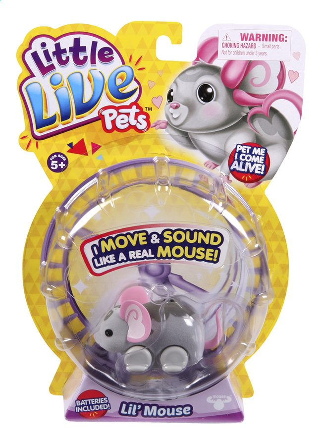 Afbeelding van Robot Little Live Pets Lil' Mouse Smooch from ColliShop