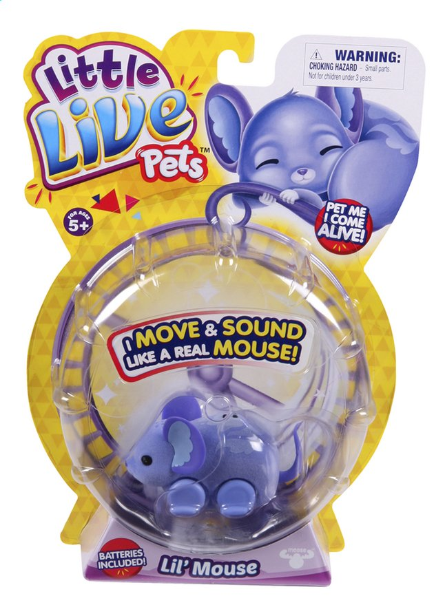 Afbeelding van Robot Little Live Pets Lil' Mouse Staria from ColliShop