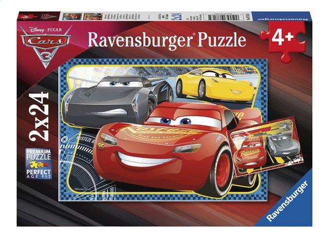 Afbeelding van Ravensburger puzzel Disney Cars 3 2x24 stukken from ColliShop