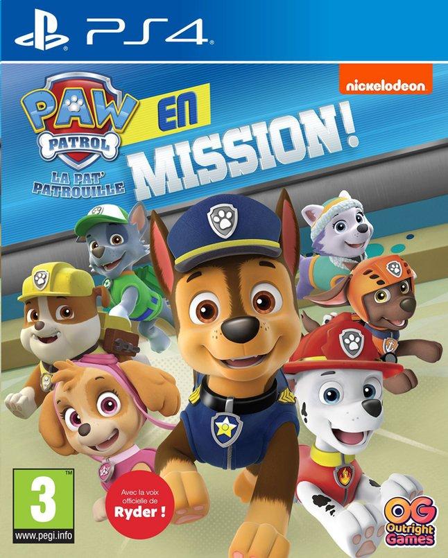 Image pour PS4 PAW Patrol en mission FR à partir de ColliShop