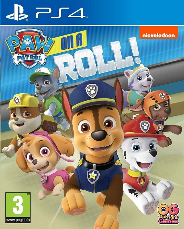 Image pour PS4 PAW Patrol on a Roll! ANG à partir de ColliShop