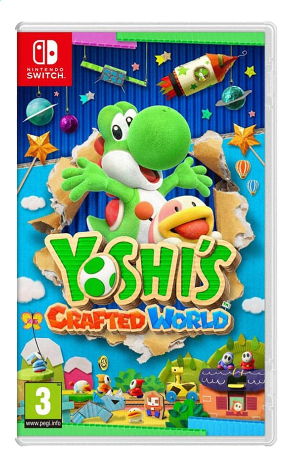 Afbeelding van Nintendo Switch Yoshi's Crafted World ENG from ColliShop