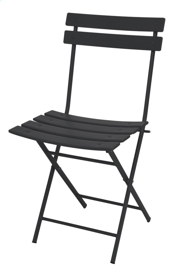 Chaise Bistrot Noir Mat
