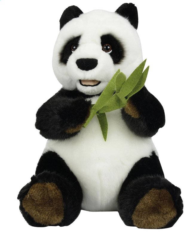 Afbeelding van Knuffel Panda met bamboe 25 cm from ColliShop