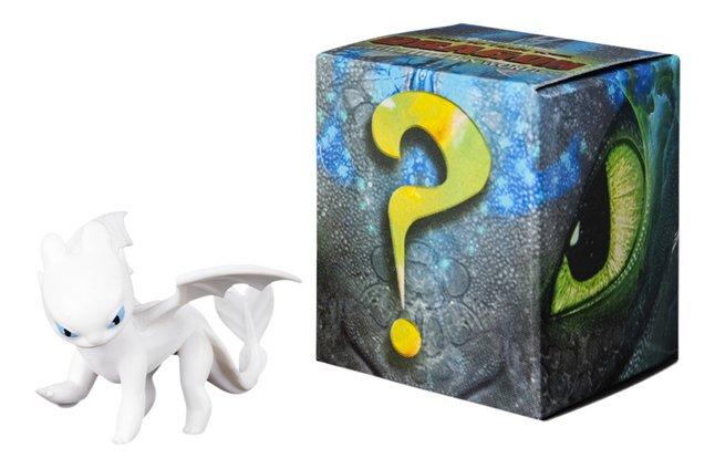 Figuur How to Train Your Dragon 3 Mystery Dragons - Lightfury
