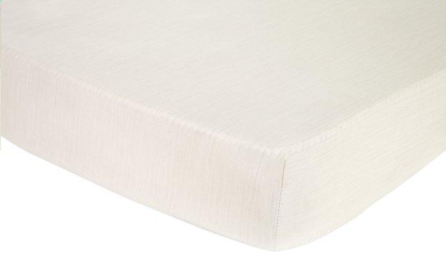 Image pour Origin Drap-housse Ecorce crème en bambou 90 x 200 cm à partir de ColliShop