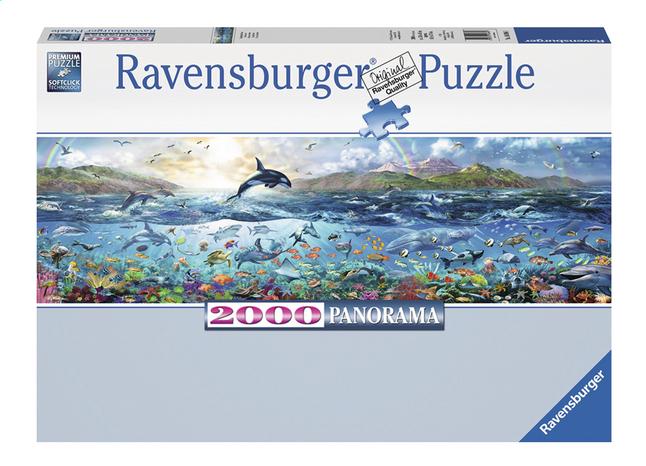 Image pour Ravensburger puzzle panorama Vie marine à partir de ColliShop
