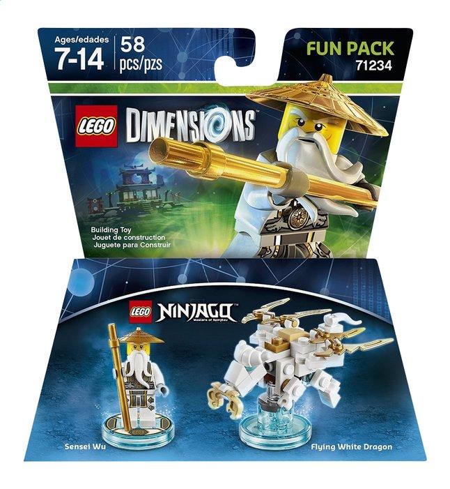 Afbeelding van LEGO Dimensions figuur Fun Pack Ninjago 71234 Sensei Wu from ColliShop