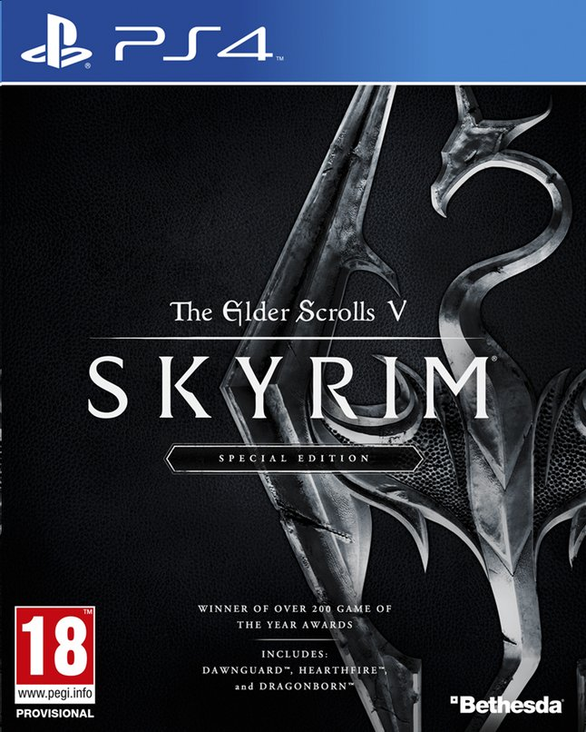 Afbeelding van PS4 The Elder Scrolls Skyrim Special Edition ENG/FR from ColliShop