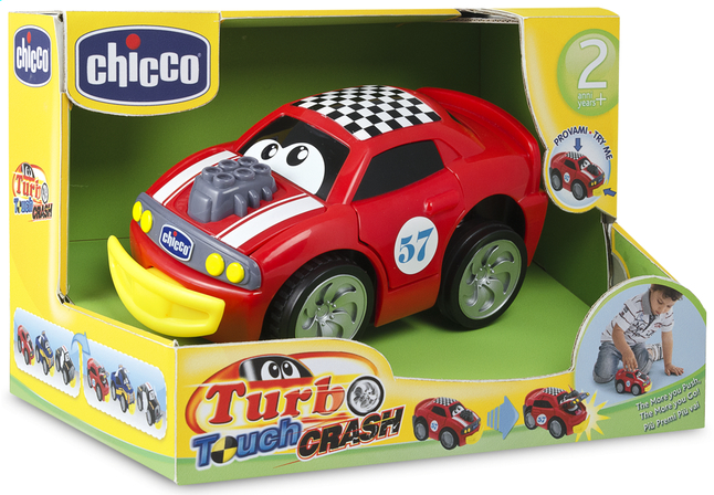 Afbeelding van Chicco autootje Turbo Touch Crash rood from ColliShop