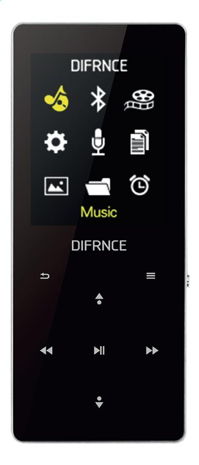 Afbeelding van Difrnce bluetooth mp4-speler MP1819BT 8GB from ColliShop