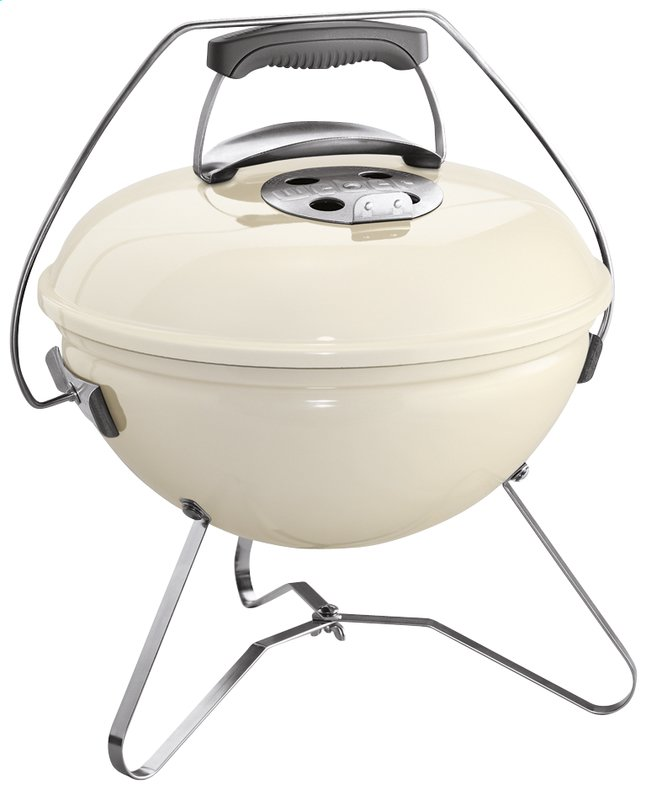 Afbeelding van Weber tafelbarbecue Smokey Joe Premium diameter 37 cm ivory from ColliShop