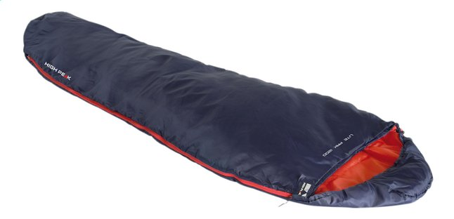 High Peak sac de couchage Lite Pak 800 L bleu/orange