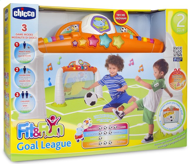 Afbeelding van Chicco elektronisch voetbaldoel Fit & Fun Goal league from ColliShop
