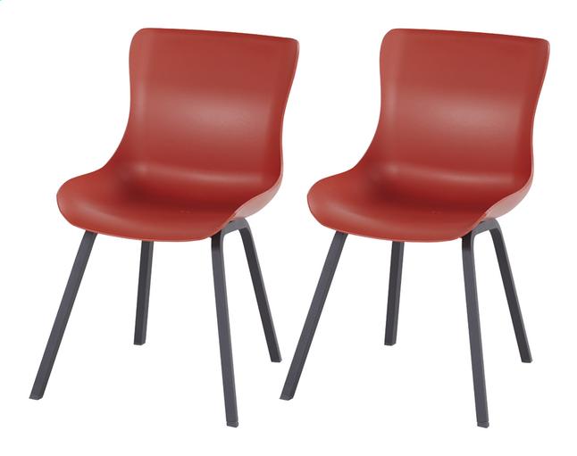Image pour Hartman Chaise de jardin Sophie Element rouge - 2 pièces à partir de ColliShop