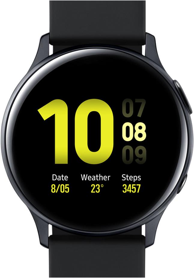 Samsung montre connectée Galaxy Watch Active 2 40 mm Aluminium Aqua Black