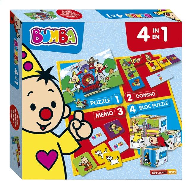 Image pour Boîte de jeu 4 en 1 Bumba à partir de ColliShop