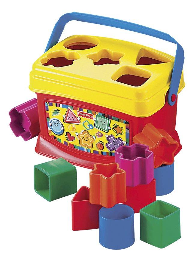 Afbeelding van Fisher-Price Vormsorteerder Baby's eerste blokken from ColliShop