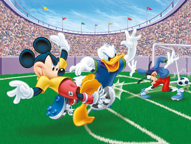 Afbeelding van Ravensburger puzzel Mickey Mouse doelpunt! from ColliShop