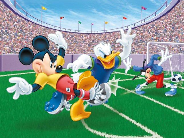 Image pour Ravensburger puzzle Mickey Mouse but ! à partir de ColliShop