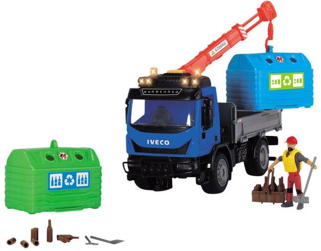 Afbeelding van Dickie Toys vrachtwagen Recycling Container set from ColliShop