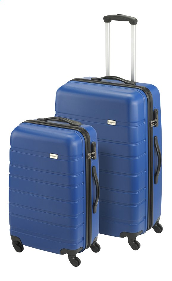 Afbeelding van Princess Traveller Harde trolleyset Singapore Spinner blauw from ColliShop