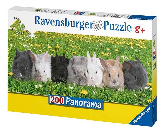 Image pour Ravensburger puzzle La parade des lapins à partir de ColliShop