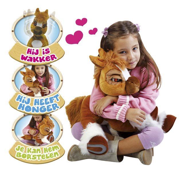 Afbeelding van Emotion Pets interactieve knuffel pony Toffee from ColliShop