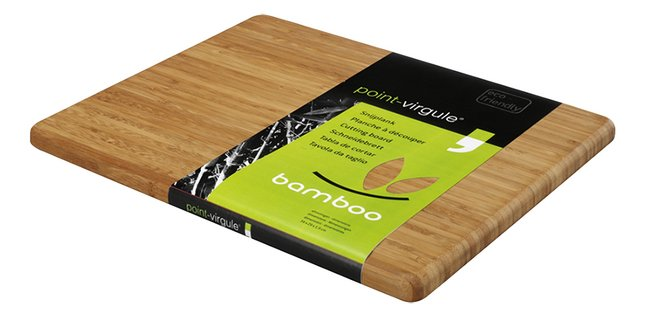 Afbeelding van Point-Virgule snijplank Bamboo 34 x 29 cm from ColliShop