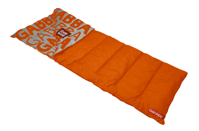 Image pour Gabbag Sac de couchage orange à partir de ColliShop